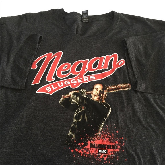d49b2beed Loot Crate Shirts | The Walking Dead Negan Sluggers Adult Xl Tshirt ...